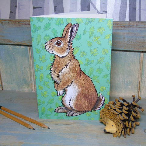 Bran The Rabbit Notebook - by Lyndsey Green