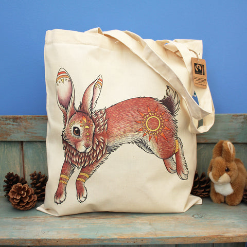 El-Ahrairah Watership Down Tote Bag - by Lyndsey Green