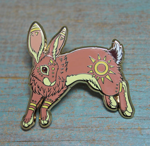 El-Ahrairah Watership Down Pin - by Lyndsey Green