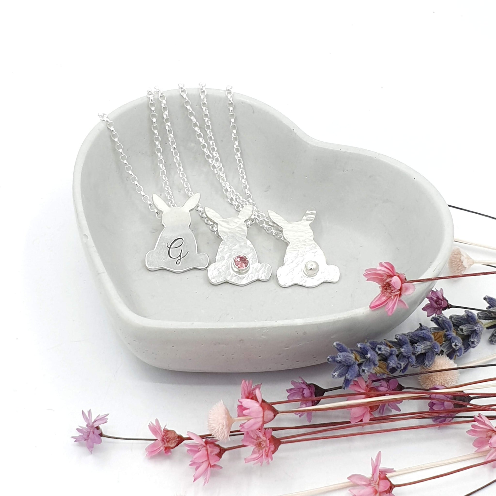 Personalised Georgie Bunny Rabbit Necklace