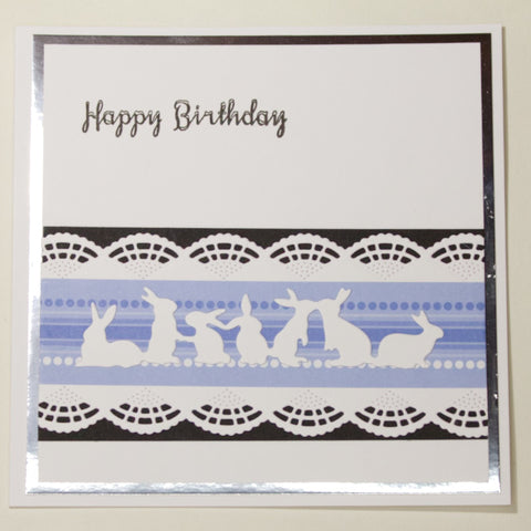 Blue Bunnies - Cards by Mummy Bunny