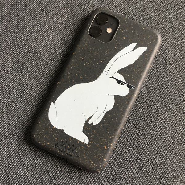 Thug Life Bunny - Biodegradable Phone Cases