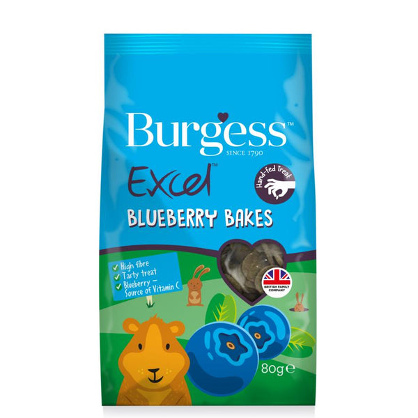 Burgess Excel Blueberry Bakes - 80g
