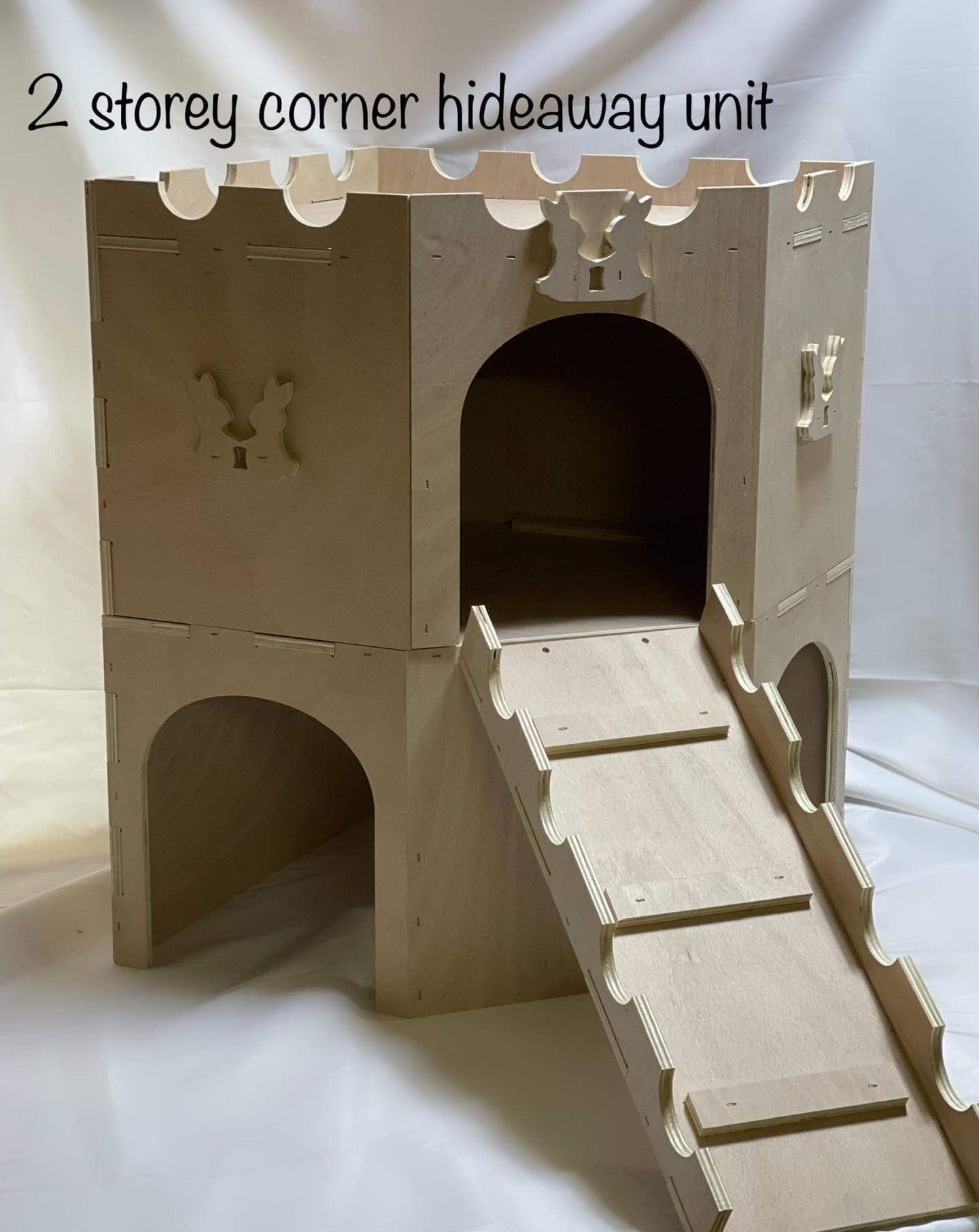 Two Tier Hideaway - by J&S Wood Hobby