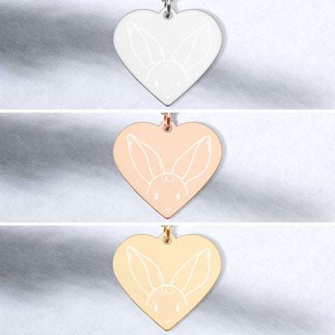 Shy Bunny Necklace - By Tina Schofield