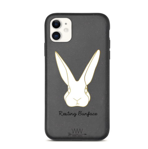 Resting Bunface - Biodegradable Phone Cases
