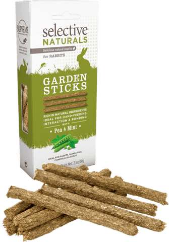 Selective Naturals Garden Sticks with Pea and Mint