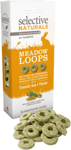 Selective Naturals Meadow Loops with Timothy Hay and Thyme