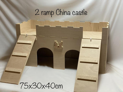 China Castle with 2 Ramps