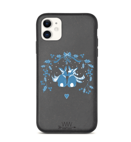 Snow Bunnies - Biodegradable Phone Cases - By Tina Schofield
