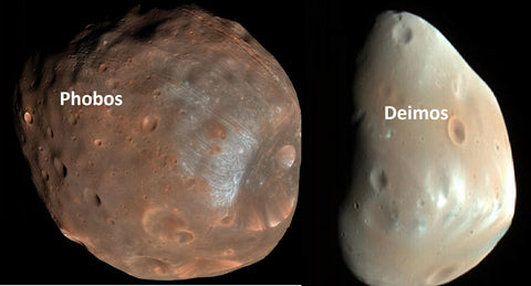 does mars have two moons