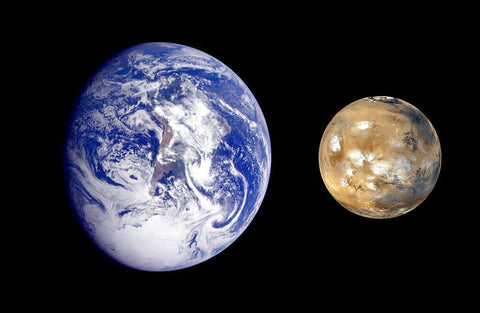 mars and earth differences