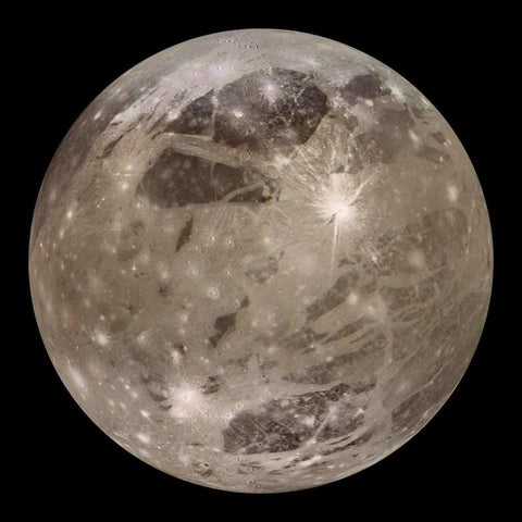 ganymede is a moon of which planet