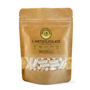 L-Methylfolate (5-MTHF) 1mg Active B9 90 Capsules