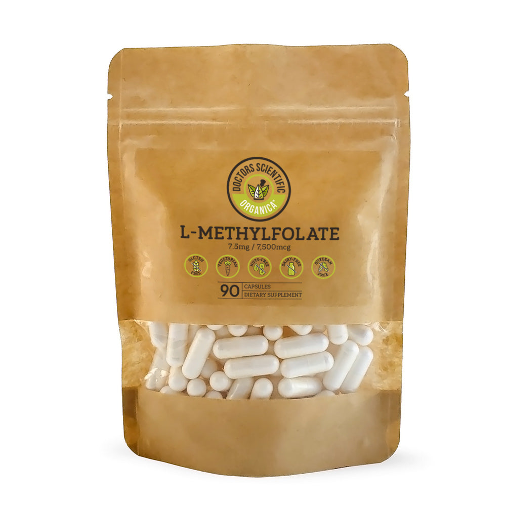 L-Methylfolate (5-MTHF) 7.5mg Active B9 90 Capsules