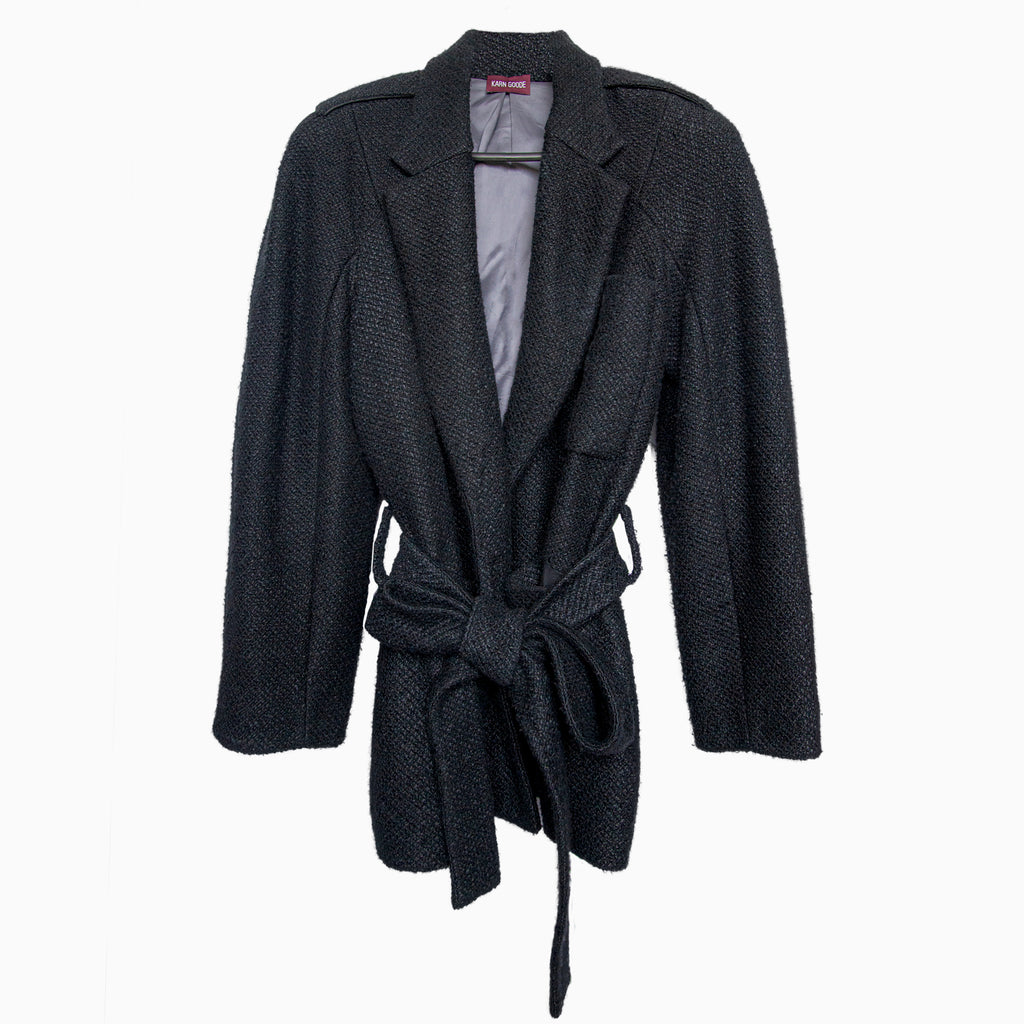 Tailored Knit Jacket - Karn Goode