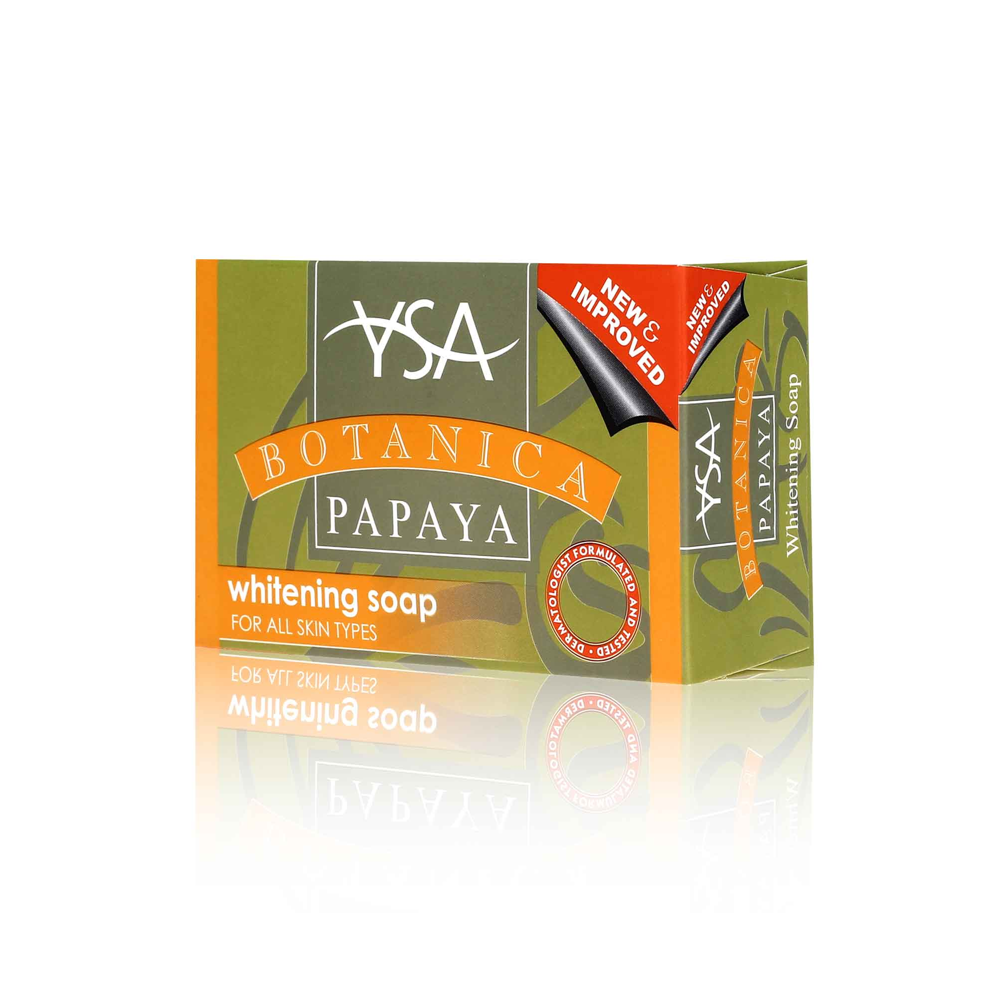 Ysa	Botanica Papaya Soap 135g
