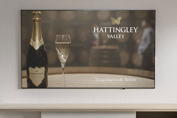 Hattingley Valley as first English wine producer to launch uk tv campaign with SKY