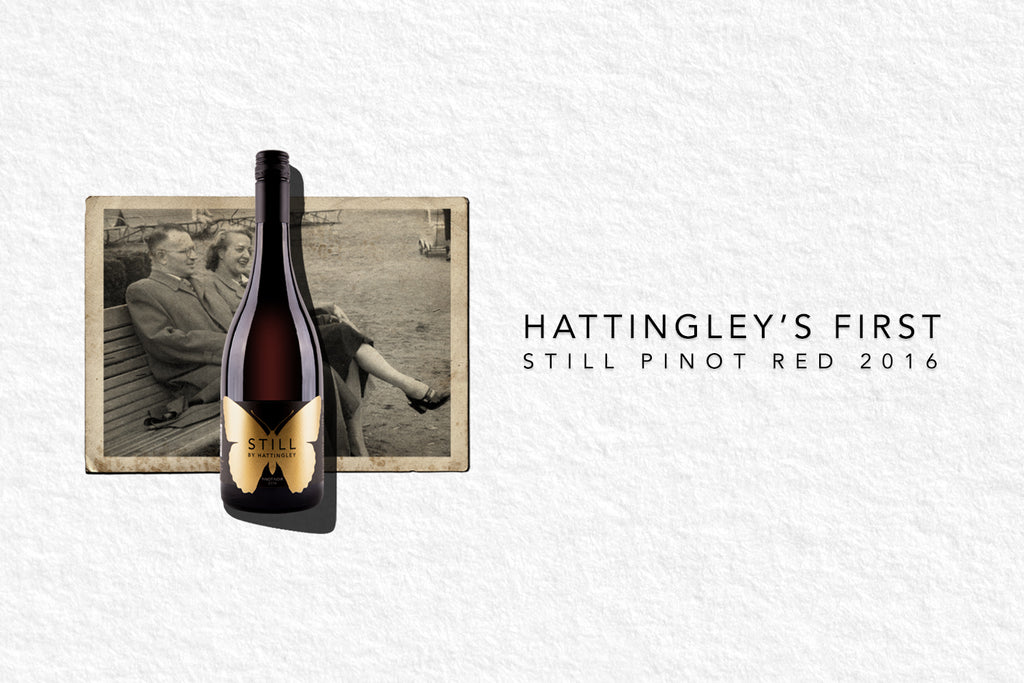 Introducing Hattingley's First STILL Pinot Red 2016