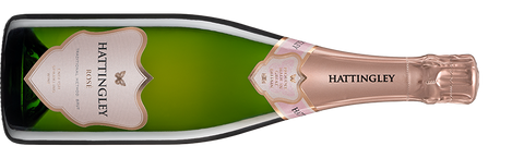 Hattingley Valley Rose sparkling wine product shot