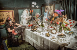 hattingley valley mad hatter wine tea party