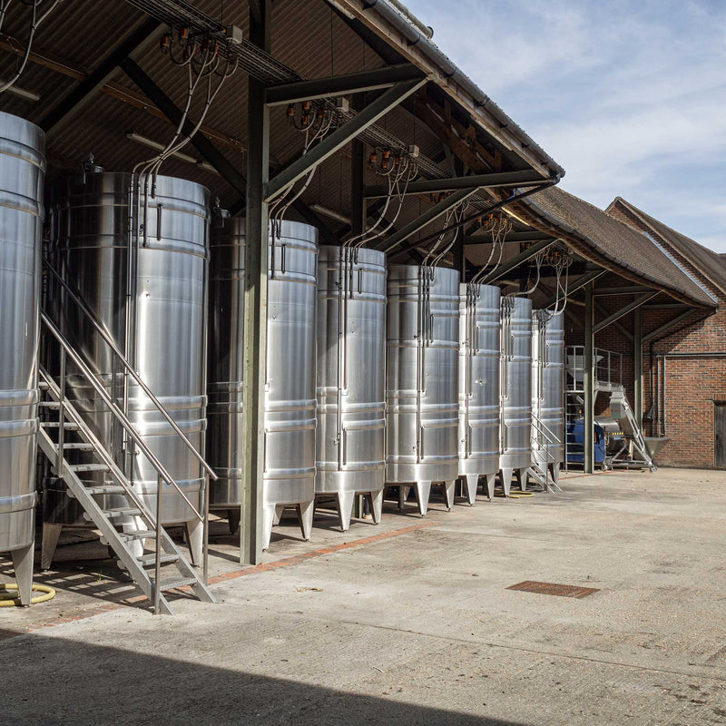 Hattingley Valley English Sparkling Wine Tanks
