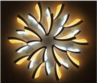 Modern LED Wheel Barrow Ceiling Chandelier For Living Room Bedroom Foyer-Chandelier-radekus
