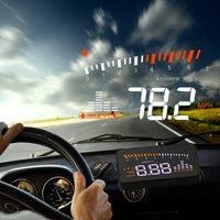 Car Windshield Heads Up Display For Vehicular Warnings & Alarms-Auto Accessories-radekus