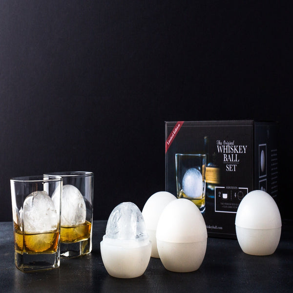The Whiskey Ball Quartet With 10 oz Rock Glasses-Kitchen-radekus
