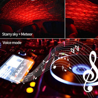 Interior Car Roof Multi-Color Starry Night Sky Display System With Optional Voice Control-Auto Accessories-radekus