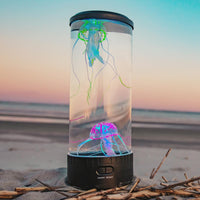 Jellyfish Aquarium Lava Lamp & Night Light-Home Decor-radekus