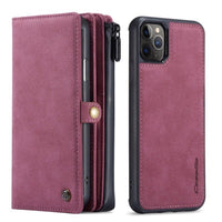 iPhone Red Multipurpose Wallet Case