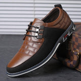 Synthetic Leather Brown Casual Shoes for men