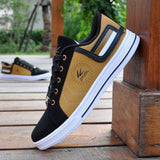 Yellow Anti Slip Low Ankle Sneakers