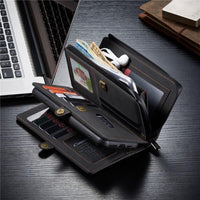 iPhone 12 Leather Wallet Case