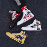 High Quality Printed Casual Sneakers For Men