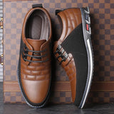 Brown Stylish Casual Shoes For Men