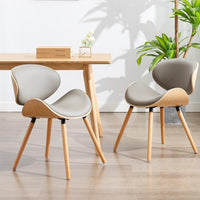 Grey Minimalist Chairs For Home Decor