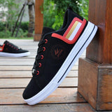 Red Anti Slip Low Ankle Sneakers