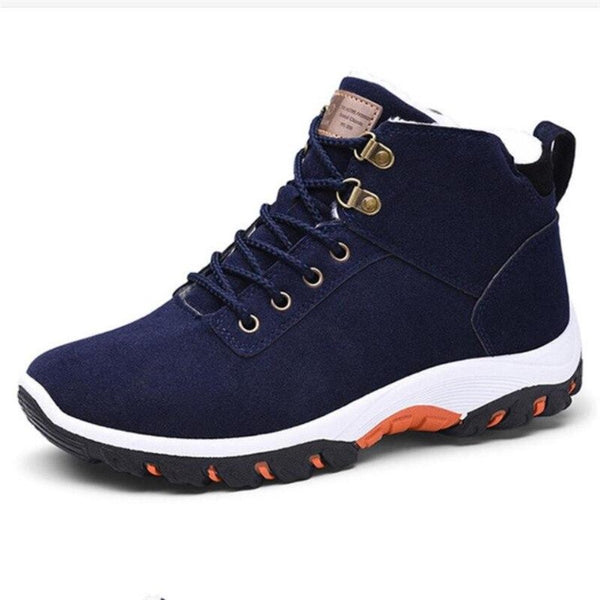 Flock Material Winter Shoes For Men