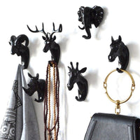 Animal Head Wall Hanger For Coats Keys Bags Umbrellas-hanger-radekus