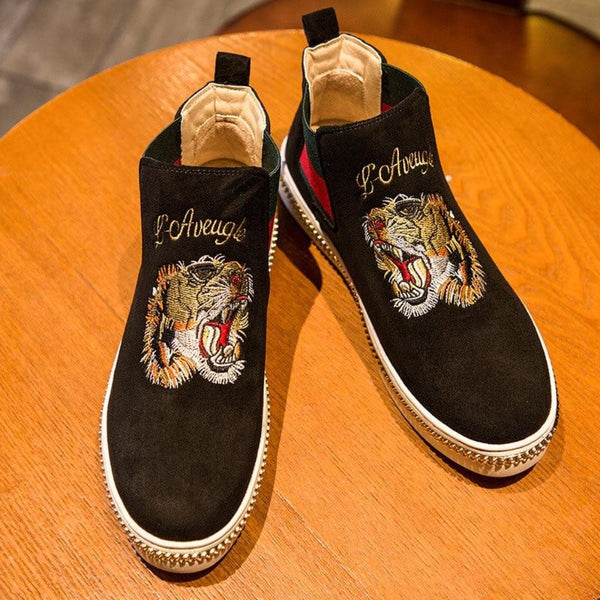 embroidered shoes for men