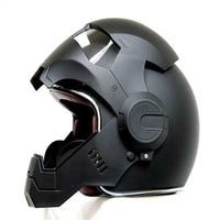 Top Quality ironman helmet for bikes, motorbikes, motorcycles XL size at radekus.com