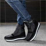 Warm Plush Ankle Boots For Men