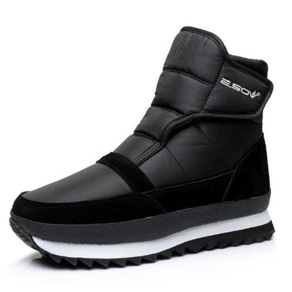 High Ankle Warm Plush Boots For Men