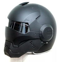 Top Quality ironman helmet for bikes, motorbikes, motorcycles size small at radekus.com