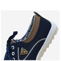 Lace Up Casual Canvas For Men