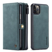 Green iPhone 12 Wallet Case