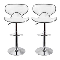 White Adjustable Stools For Home