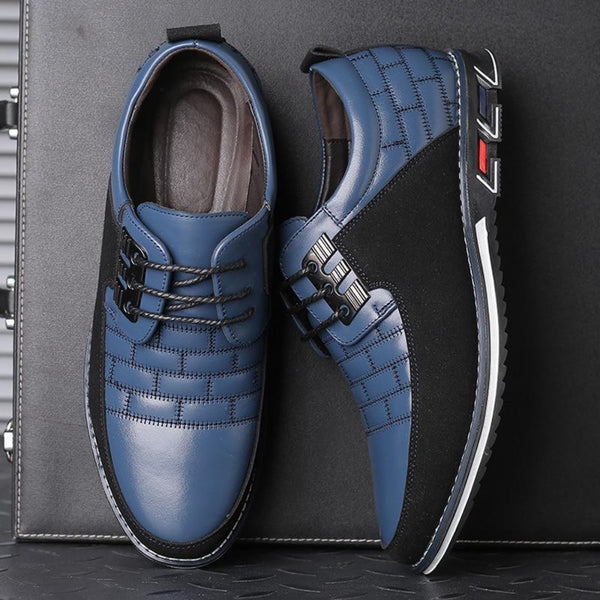 Big Size Blue Casual Shoes For Men